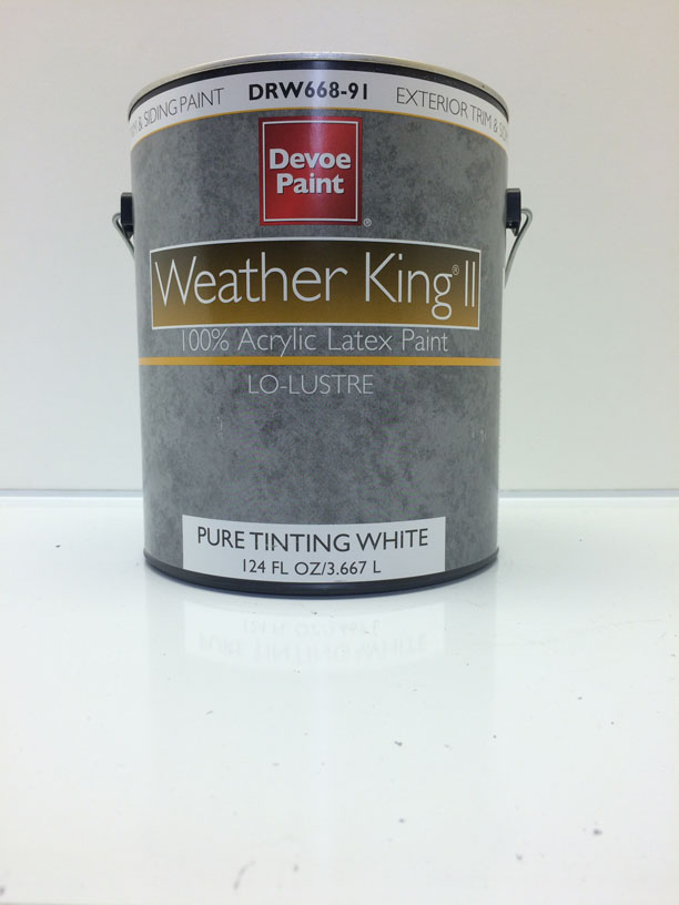 All Color Paint Co Devoe Paint Weather King