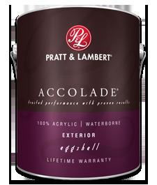 Pratt Amp Lambert Accolade Exterior Eggshell All Color